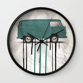 kombie paint job 02 Wall Clock