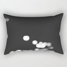 Street Lights at Night Rectangular Pillow