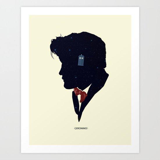 Dr Who - Geronimo Art Print