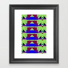 basique Framed Art Print