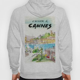 Winter In Cannes Hoody
