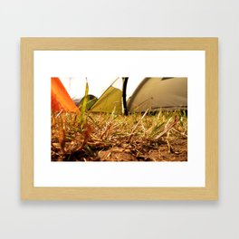 Festival Feeling Framed Art Print