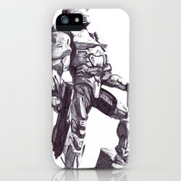 Master Chief 117 iPhone Case