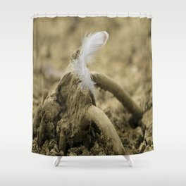 Like a feder Shower Curtain