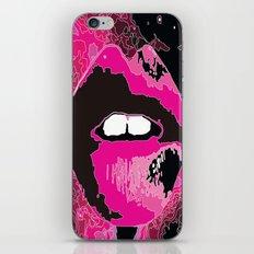 Lip service iPhone & iPod Skin