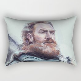 We are kissed by fire. Rectangular Pillow