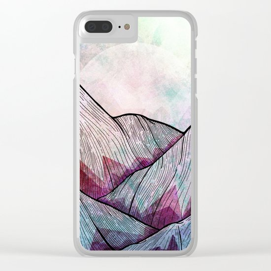 A cold summer morning Clear iPhone Case