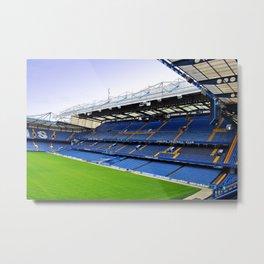 Stamford Bridge East Stand Chelsea Metal Print