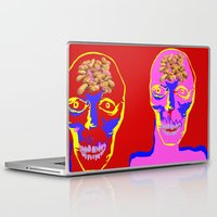 peanuts Laptop & iPad Skins featuring may contain more peanuts by Sarah E. Roy