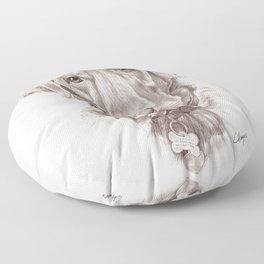 Labrador Retreiver Floor Pillow