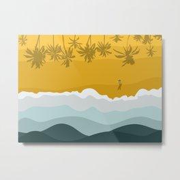Bali Surf Beach  Metal Print