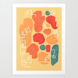 Secret Menu Art Print