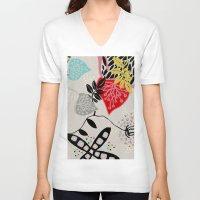 rio V-neck T-shirts featuring RIO 004 by Maca Salazar