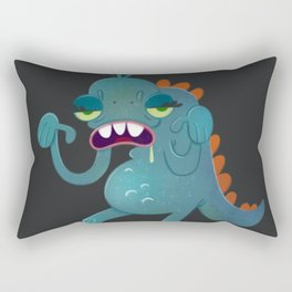 Sick Monster Rectangular Pillow
