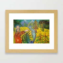 Sanctuary - Santuario Framed Art Print