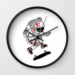 APRO-space flip Wall Clock