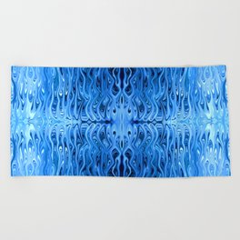 Frozen Squid by Chris Sparks Beach Towel