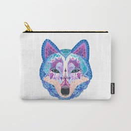 Henna Wolf Carry-All Pouch
