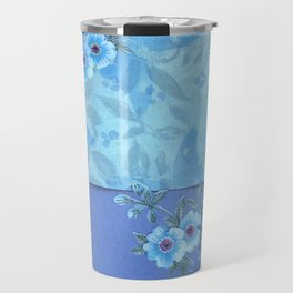 Paper flowers Travel Mug