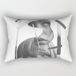 She left pieces of her life Rectangular Pillow