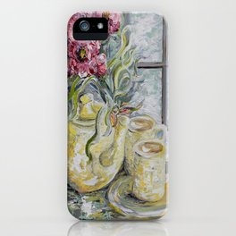Morning Tea for Two iPhone Case