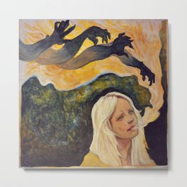 Laura Marling // The beast Metal Print