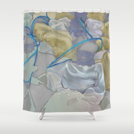 Build Your Own Angel Shower Curtain