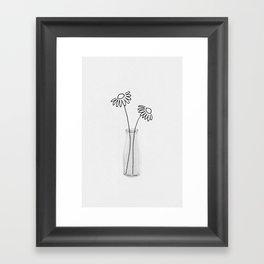 Flower Still Life II Framed Art Print