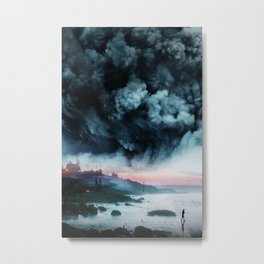 Atomic Boy Metal Print
