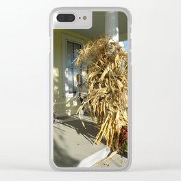 Harvest Porch Clear iPhone Case