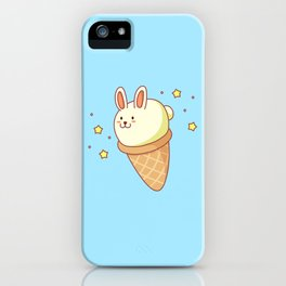 Bunny-lla Ice Cream iPhone Case