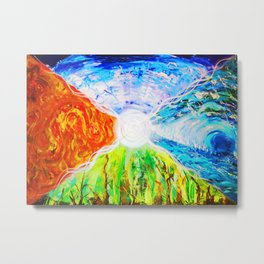 Elemental Space Metal Print