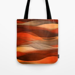 """""""Sea of sand and caramel waves"""" Tote Bag"""