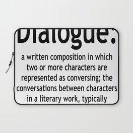 Dialogue Laptop Sleeve