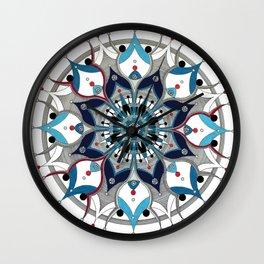 Mandala 006 Wall Clock