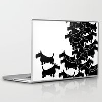 terrier Laptop & iPad Skins featuring Scottish Terrier by mailboxdisco