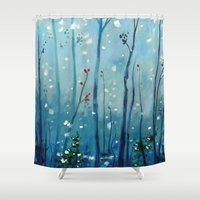 new year Shower Curtains featuring new year by Brandon Koepke
