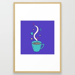 The Universe in my Cup Framed Art Print