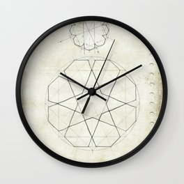 Geometry Sketch Seven Wall Clock