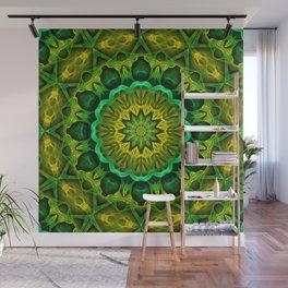 Blooming Forest Guardians Mandala Wall Mural