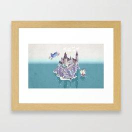 Hogwarts series (year 4: the Goblet of Fire) Framed Art Print