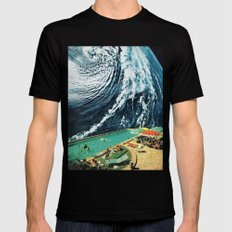 VISIONS 1.0 Mens Fitted Tee Black MEDIUM