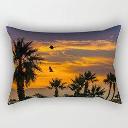 Sunrise in California Rectangular Pillow