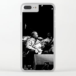 B.B. King on stage Clear iPhone Case
