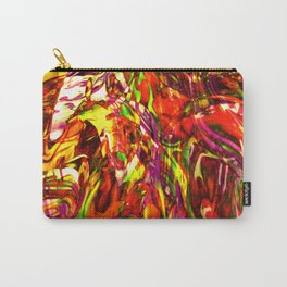 Fluid Painting (Yellow Version) Carry-All Pouch