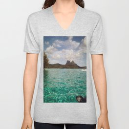 Bora Bora Tahiti, Take Me on a Jet Ski Unisex V-Neck