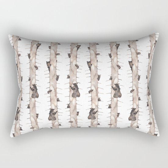 Bears. Rectangular Pillow