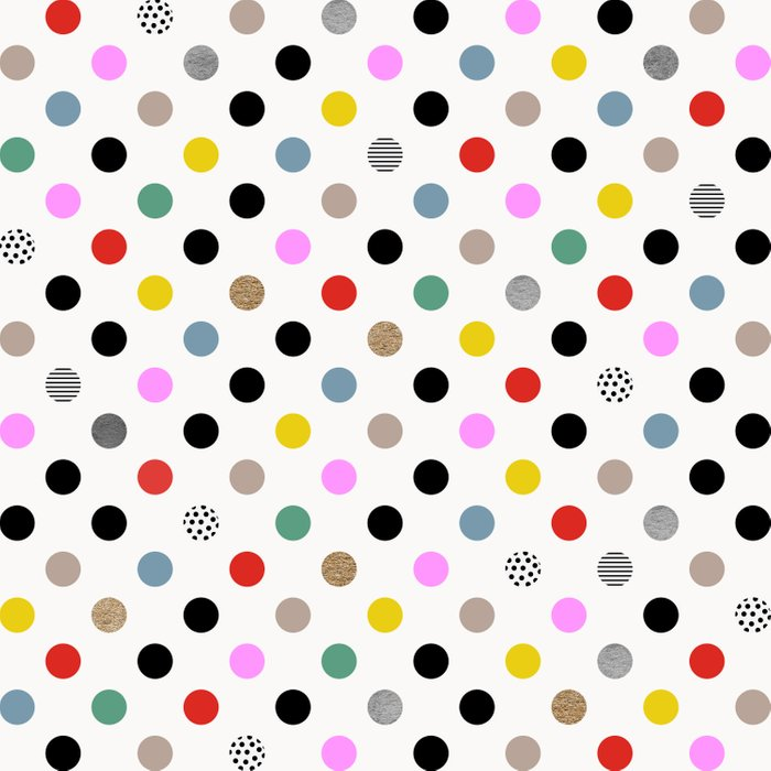Coloured Dot Comforters