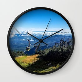 Cannon Mountain's Aerial Tramway Wall Clock