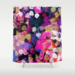 April Abstract Shower Curtain